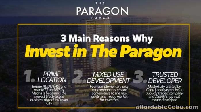 2nd picture of The Paragon Davao City For Sale in Cebu, Philippines