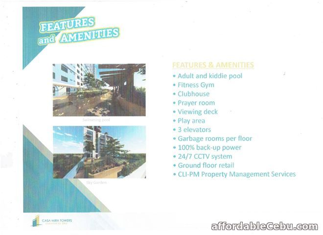 3rd picture of Casa Mira Towers Cagayan De Oro For Sale in Cebu, Philippines