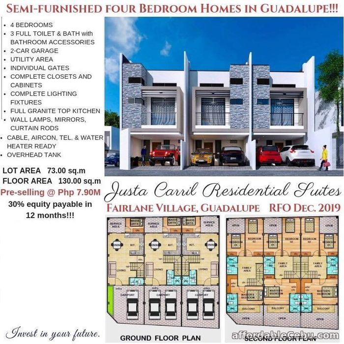 1st picture of Justa Carril Residential Suites For Sale in Cebu, Philippines