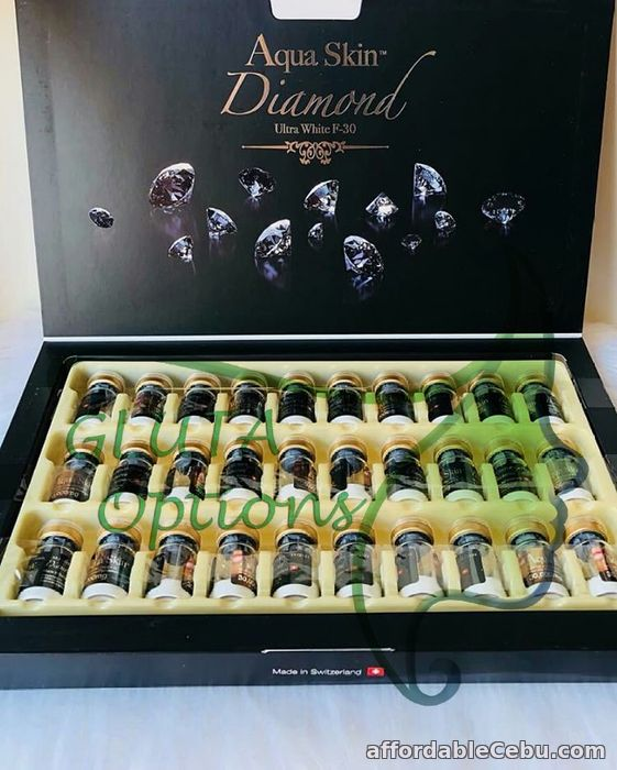 2nd picture of PROMO:NEW Aquaskin Diamond 30 vials from Switzerland (Authentic) For Sale in Cebu, Philippines