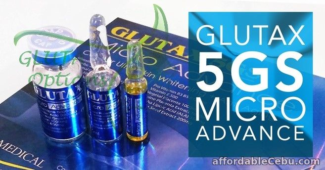 2nd picture of Sale: GLUTAX 5GS MICRO ADVANCE 6VIALS (Authentic, Made in Italy) For Sale in Cebu, Philippines