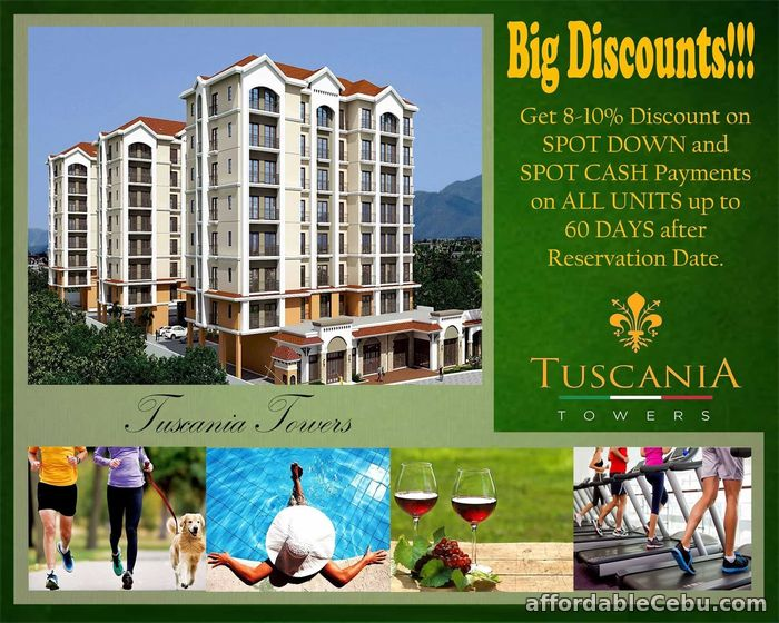 1st picture of Tuscania Towers Cagayan De Oro For Sale in Cebu, Philippines