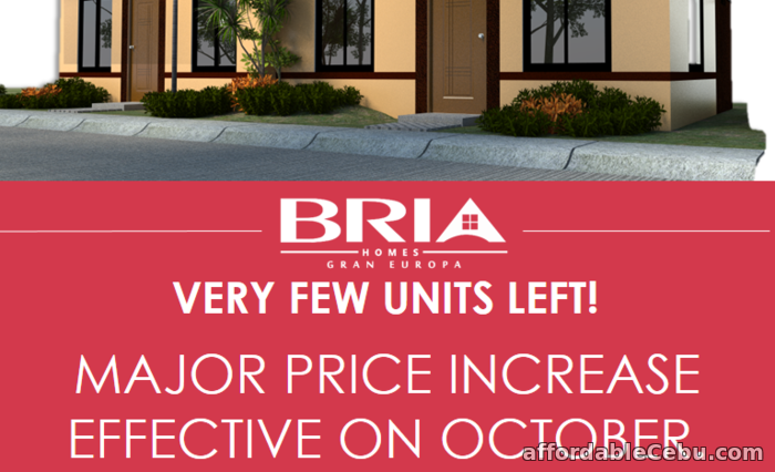 2nd picture of Bria Homes at Gran Europa For Sale in Cebu, Philippines
