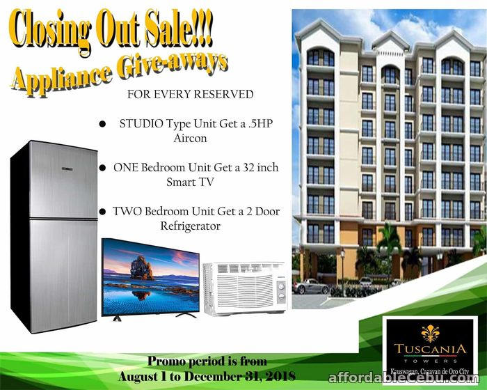 3rd picture of Tuscania Towers Cagayan De Oro For Sale in Cebu, Philippines