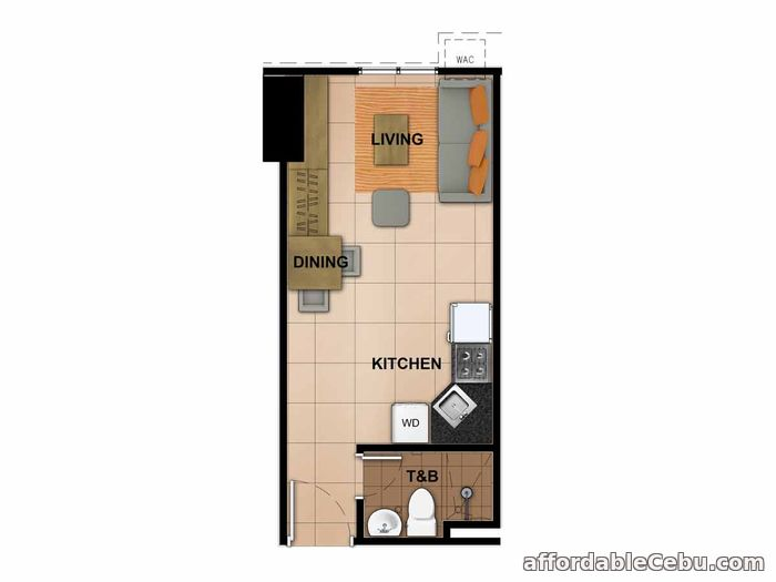 2nd picture of Avida Towers Riala - Studio Unit (Tower 4) For Sale in Cebu, Philippines