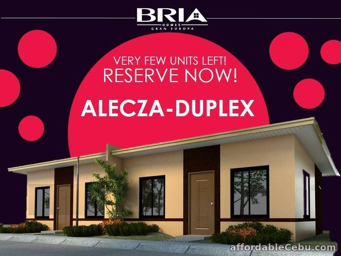 1st picture of Bria Homes at Gran Europa For Sale in Cebu, Philippines