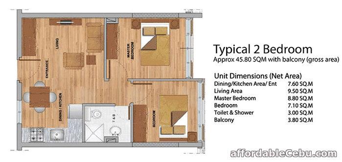 4th picture of 2 BR Unit for sale at Primavera Residences in Cagayan De Oro – For Sale in Cebu, Philippines