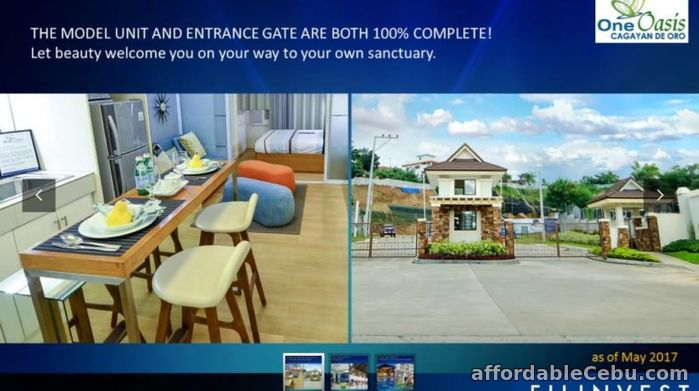 2nd picture of One Oasis Cagayan De Oro For Sale in Cebu, Philippines