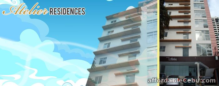 2nd picture of CONDO 1BR FOR SALE- ATELIER RESIDENCES For Sale in Cebu, Philippines