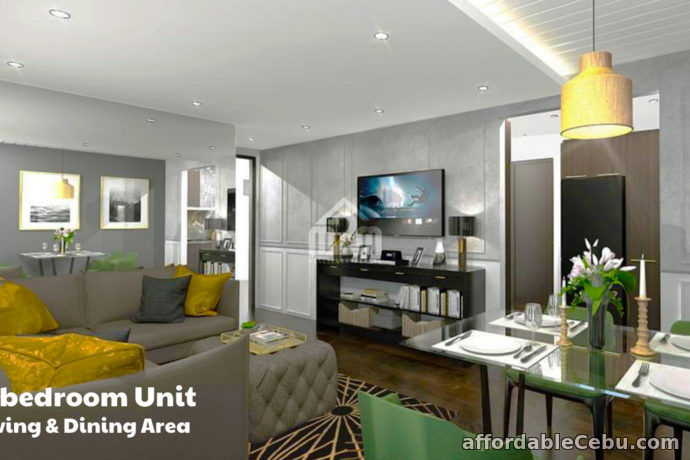 2nd picture of Condo For Sale Preselling -  Paseo Grove(2-Bedroom UNIT)  Humay-Humay Road, Mactan, Lapu-Lapu, City For Sale in Cebu, Philippines