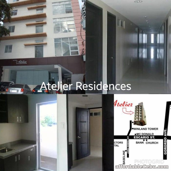 2nd picture of ATELIER RESIDENCES - 1 BEDROOM for SALE For Sale in Cebu, Philippines