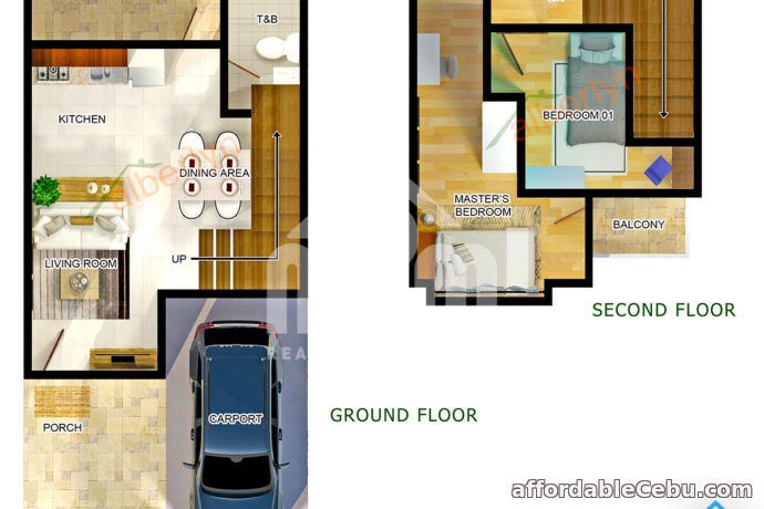 2nd picture of House and Lot For Sale - Boxhill West Residences(AURA MODEL) Mohon, Talisay City, Cebu For Sale in Cebu, Philippines
