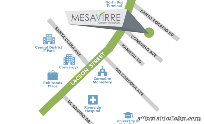 1st picture of Mesavirre Garden Residences Bacolod For Sale in Cebu, Philippines