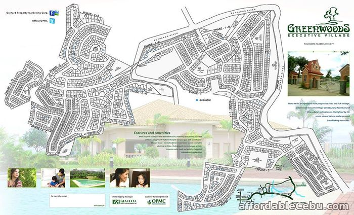 5th picture of Greenwoods Executive Homes(LOT ONLY) Pulangbato, Talamban, Cebu City For Sale in Cebu, Philippines