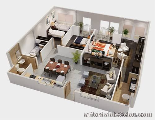 3rd picture of Condo Units for Sale at Amalfi City di MARE in SRP, Cebu City For Sale in Cebu, Philippines