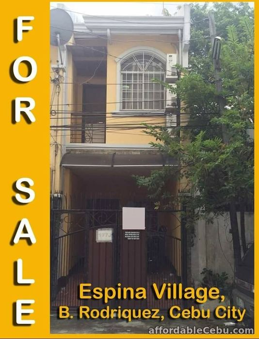 1st picture of 2 Storey Townhouse for Sale at Espina Village, Cebu City For Sale in Cebu, Philippines
