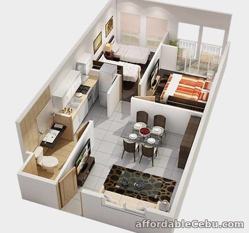 2nd picture of Condo Units for Sale at Amalfi City di MARE in SRP, Cebu City For Sale in Cebu, Philippines