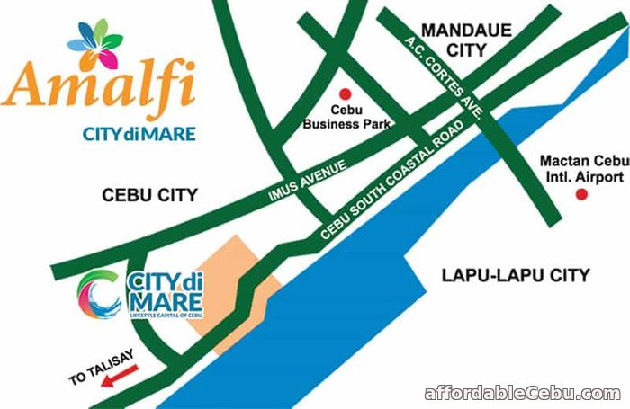 4th picture of Condo Units for Sale at Amalfi City di MARE in SRP, Cebu City For Sale in Cebu, Philippines