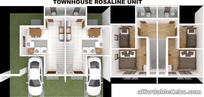 3rd picture of SERENIS SOUTH TALISAY SUBDIVISION - ROSALINE TOWNHOUSE For Sale in Cebu, Philippines