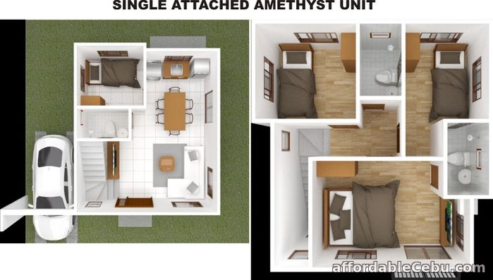 2nd picture of SERENIS SOUTH TALISAY SUBDIVISION - AMETHYST (SINGLE DETACHED) For Sale in Cebu, Philippines