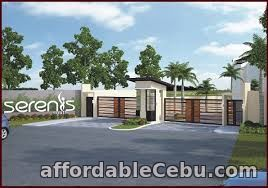 1st picture of SAPPHIRE-4BR HOUSE AND LOT IN SERENIS SOUTH (SINGLE ATTACHED), TALISAY For Sale in Cebu, Philippines