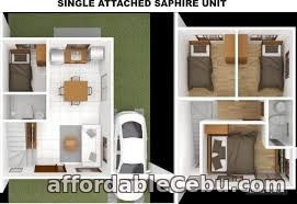 3rd picture of SAPPHIRE-4BR HOUSE AND LOT IN SERENIS SOUTH (SINGLE ATTACHED), TALISAY For Sale in Cebu, Philippines