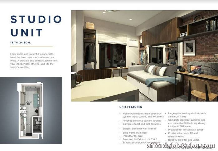 5th picture of The Median Condo-Studio Type For Sale in Cebu, Philippines