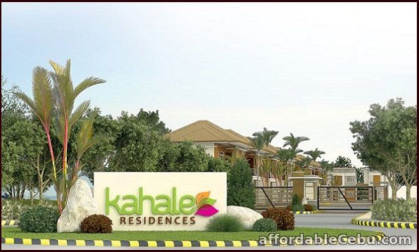 1st picture of KAHALE RESIDENCES PHASE 1 / BLK 4 / LOT 81 - MAKANI MODEL, MINGLANILLA For Sale in Cebu, Philippines