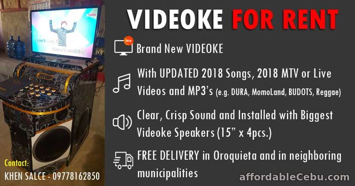 1st picture of Videoke For Rent in Oroquieta City For Rent in Cebu, Philippines