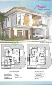 3rd picture of Moana House Model- Single Detached For Sale in Cebu, Philippines