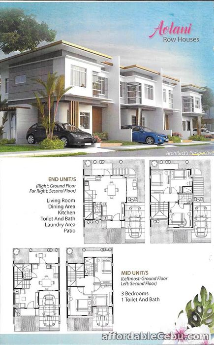 1st picture of Row House For Sale! For Sale in Cebu, Philippines