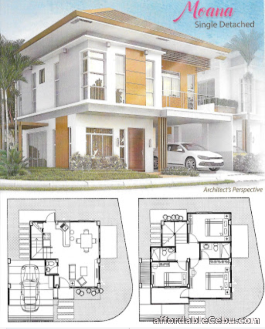 1st picture of MOANA - Single Detached - 3BR / 2T&B For Sale in Cebu, Philippines