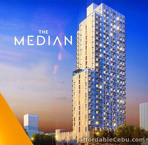 1st picture of THE MEDIAN RESIDENCES - STUDIO UNIT FOR SALE, CEBU For Sale in Cebu, Philippines