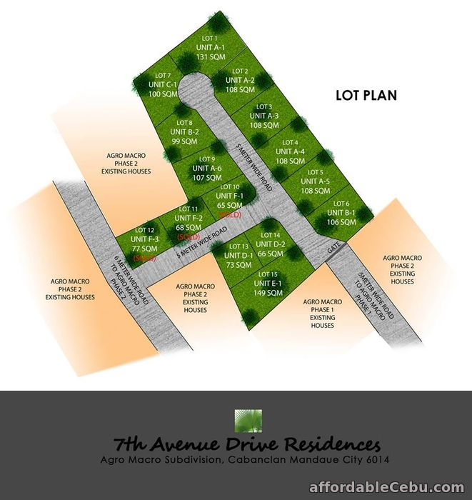 1st picture of Duplex Type House @7th Avenue Drive Residences, Agro Macro II, Cabancalan Mandaue City For Sale in Cebu, Philippines
