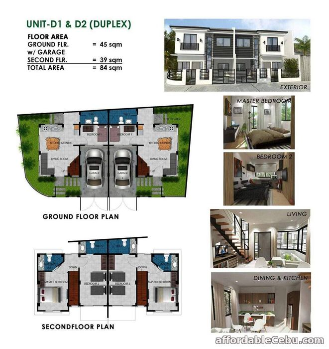 2nd picture of Duplex Type House @7th Avenue Drive Residences, Agro Macro II, Cabancalan Mandaue City For Sale in Cebu, Philippines