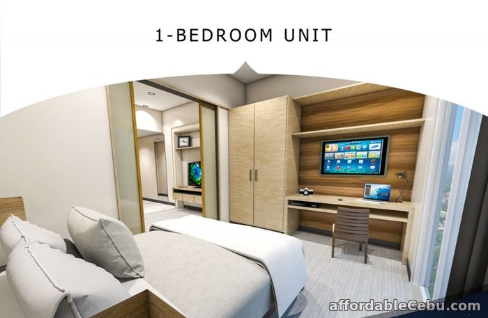 4th picture of 23RD FLOOR UNIT 29 & 30 1BR A2 - ONE ASTRA PLACE For Sale in Cebu, Philippines