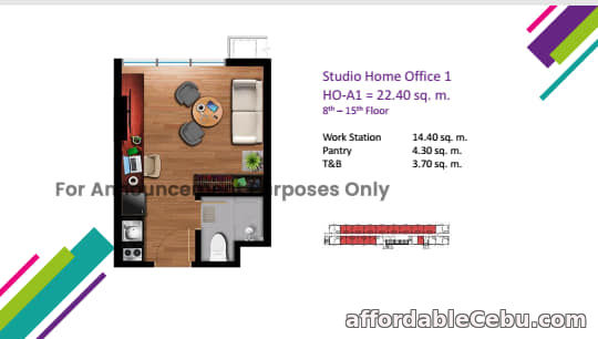 3rd picture of Affordable Home office Condo for Sale in Archbishop Cebu. For Sale in Cebu, Philippines