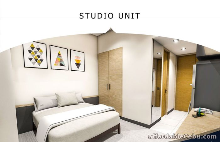 3rd picture of ONE ASTRA PLACE - 15TH FLOOR UNIT 1525 STUDIO A2 For Sale in Cebu, Philippines