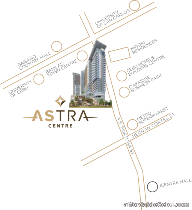 5th picture of 25TH FLOOR UNIT 2512 STUDIO A2 - ONE ASTRA PLACE For Sale in Cebu, Philippines