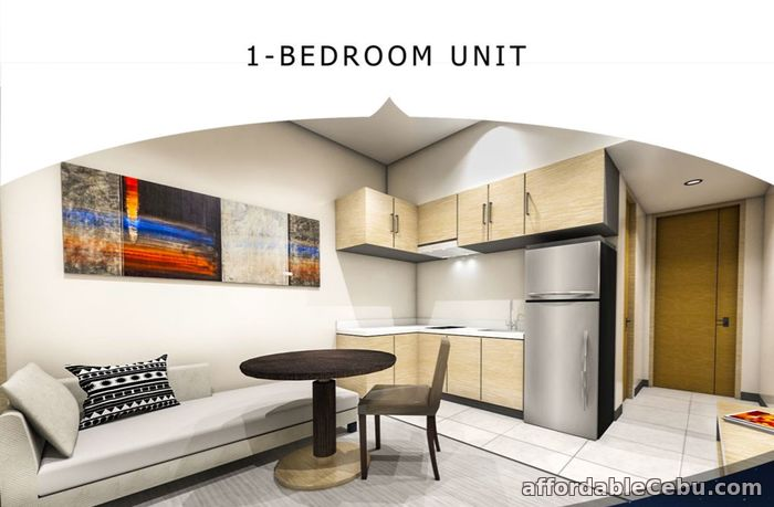 2nd picture of 23RD FLOOR UNIT 29 & 30 1BR A2 - ONE ASTRA PLACE For Sale in Cebu, Philippines