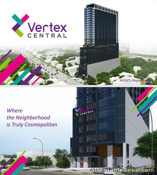 1st picture of Affordable Condo Units for sale at Vertex Central in Cebu City For Sale in Cebu, Philippines