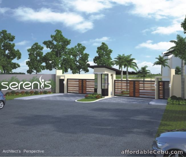 1st picture of Townhouse Mid Unit with 45 sq m lot area at Serenis South Talisay City For Sale in Cebu, Philippines
