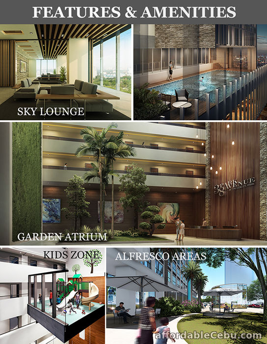 3rd picture of 1 BEDROOM FOR SALE - 38 PARK AVENUE For Sale in Cebu, Philippines