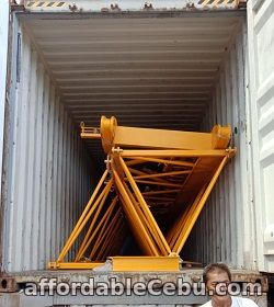 3rd picture of TOWER CRANE (Luffing Crane) XGTL120 For Sale in Cebu, Philippines