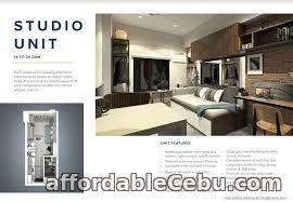5th picture of Pre Selling Studio Unit - B1 - in One Astra Place Mandaue Cebu For Sale in Cebu, Philippines