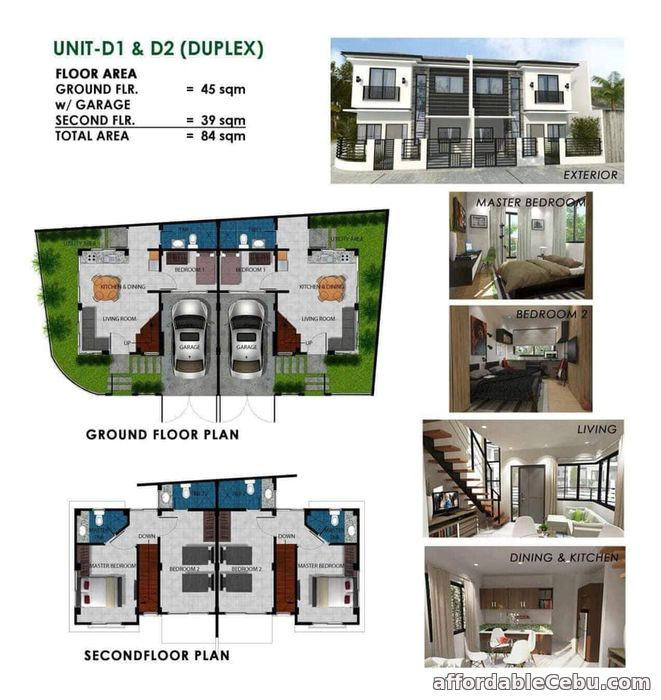 3rd picture of Duplex type House For Sale in Cebu, Philippines