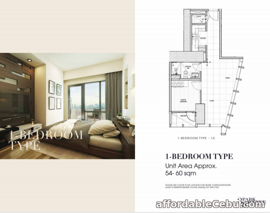 2nd picture of 38 Park Avenue, 1 Bedroom For Sale, IT Park Lahug For Sale in Cebu, Philippines