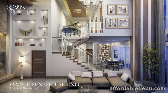 1st picture of Pre- Selling Penthouse with New York design at 38 Park Avenue For Sale in Cebu, Philippines