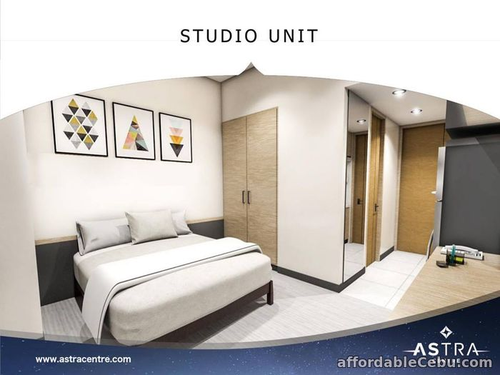 2nd picture of For Sale Studio Unit - B1 - in One Astra Place Mandaue Cebu For Sale in Cebu, Philippines
