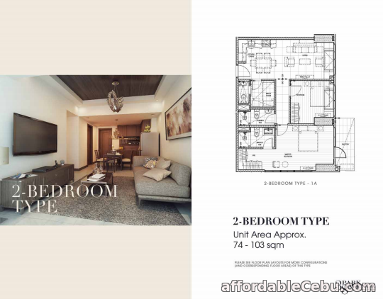 2nd picture of For Sale 2 Bedrooms 38 Park Avenue in Lahug Cebu City For Sale in Cebu, Philippines